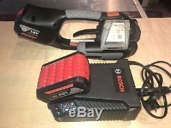Signode Model BXT2 19mm 3/4 18v Battery Pallet Band Strapper SUPER CLEAN