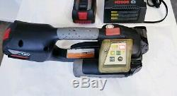 Signode Model BXT2-19mm Pallet Band Strapper, Charger Included and Extra Battery