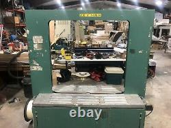 Signode Model HB-4300 Strapping Machine. Large Capacity. 48 X 48 Opening
