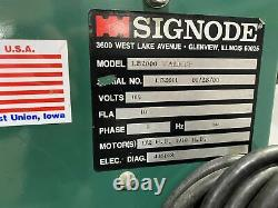 Signode Model LB2000 Automatic Strapping Machine MH2250 (MH2250)