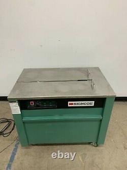 Signode Model MS-T Semi-Automatic Strapping Machine