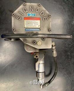 Signode Prhr-114 Pneumatic Combo Tool For Steel Strapping Tensioner Sealer