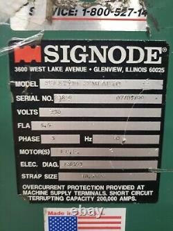 Signode Semi-Automatic Strapping Machine Suretyer SemiAuto #11664