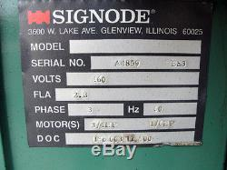 Signode Spirit 20 X 30' Strapping Machine. A4859 Bs3