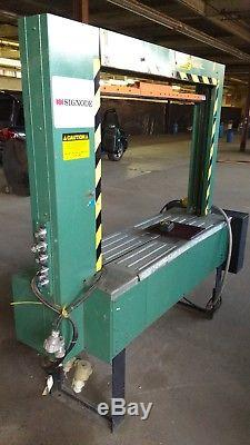Signode Strapping Machine