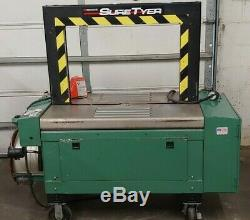 Signode Sure Tyer strapping machine B1094 3 Phase 1 HP Motor
