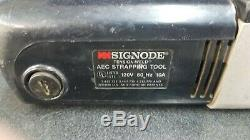 Signode Tension-Weld AEC Strapping Banding Tool 120V