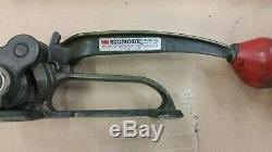 Signode Tensioner Model ST Steel Strapping Size 5/8-3/4 with Crimper Tool