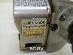 Signode VFD Tension Weld Pneumatic Strapping Banding Tool for 1/2 Strapping