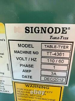Signode table tyer