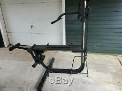 Soloflex Muscle Machine Home Gym Complete Set With Weight straps complete