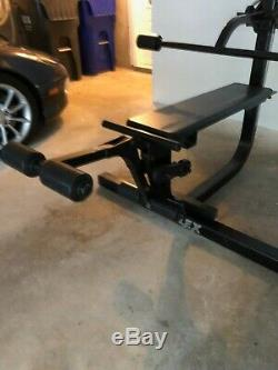 Soloflex Muscle Machine withLeg Extension, Butterfly, Floating Arm & Weight Straps