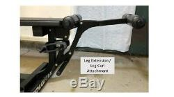 Soloflex Muscle Machine with Leg Extension, Butterfly, Dip Bar, and Weight Straps