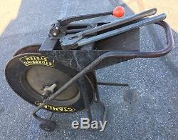Stanley Industrial Banding Strapping Dispenser Cart with Tensioner