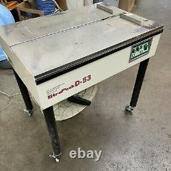 Strapack D-52 Semi-Automatic Strapping Binding Machine