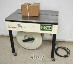 Strapack D-52 Semi-Automatic Strapping Binding Machine Tension4.4-100lbs + Roll