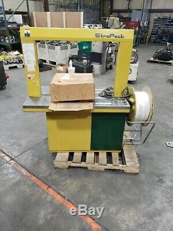 Strapack RQ-8 110V Strapping Machine #56CG