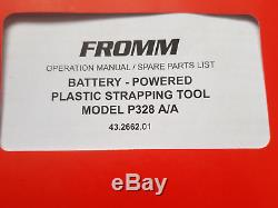 Strapping GUN tool FROMM P328