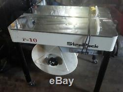 Strapping Machine Carton Semi Automatic Equipment Seal Packaging Box Cases i-10
