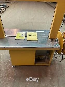 Strapping Machine- Strapack RQ-8X, Arch 33 W x 24 H Plastic Banding Machine
