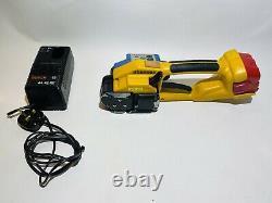 Strenge Strapex STB 63 Handheld Strapping Tool Banding Machine 12V Heavy Duty