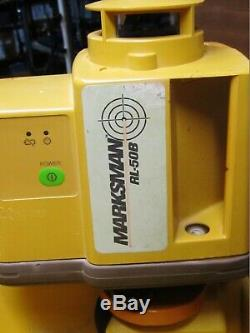 Topcon Marksman RL- 50B Rotary Laser Level
