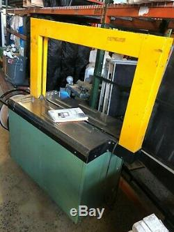 Transpak Equipment Tauris TP601D Automatic Strapping Machine
