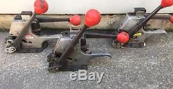 Two Signode AL-38 Strapping Tensioning Crimping Tool 3/8 /One Al-516 5/16