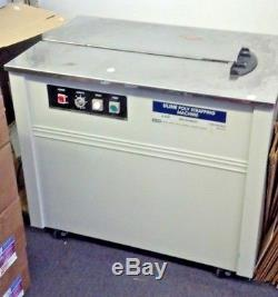 Uline Poly Semi Automatic Strapping Machine H959 Mailing and Shipping Strapper