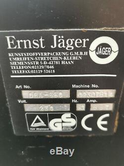 Umreifungsmaschine Ernst Jäger Seitenverschluss 80x125 cm Verpackungsmaschine