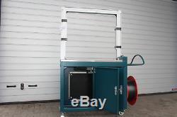 Umreifungsmaschine Umreifungsautomat 800x800mm Simons+Harren Bj. 2011 Mwst. 4/62