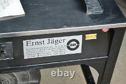 Umreifungsmaschine halbautomatisch Jäger PP Umreifungsgerät Bändermaschine