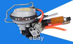 Used Pneumatic Push Type combination steel strapping tool 1 Person Tighten Lock