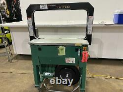 Used Signode Model LB2000 Automatic Strapping Machine MH2250-Material Handling
