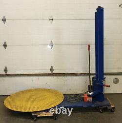 Vestil Semiautomatic Stretch Wrap Machine # SWA-48 TESTED WORKING USED WE SHIP