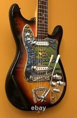 Vintage Time Machine Penncrest Strat Made In Japan Clean Excellent Cond. WithCase