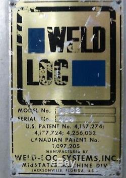Weld Loc 1862 Case Strapper