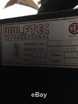 Wulftec (WHP-150) Stretch Wrap Machine with Turntable