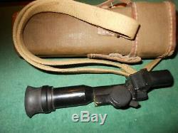 Wwii Japanese Type 99 Machine Gun Optical Scope Case Strap Ww2 Rangefinder Lmg